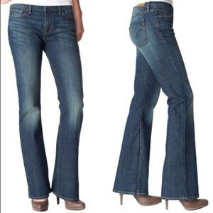 LEVI'S 553 Mid Rise Bootcut Jeans Med Wash 10